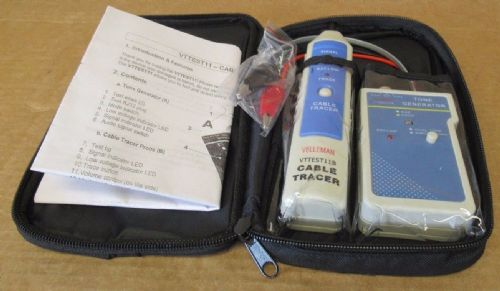 Velleman VTTEST11 Cable Detector/ Tester With Tone Generator